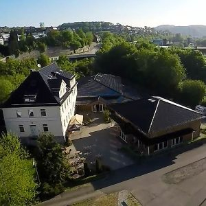 Gebäude der Calvary Chapel Siegen aus Luftperspektive