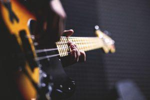 Gitarre beim Worship