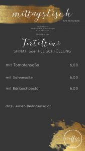 Mittagstisch Coffeebar Siegen