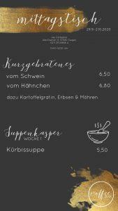 Mittagsmenü Coffeebar Siegen